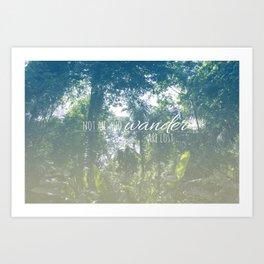 Wander Art Print