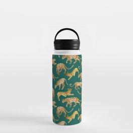 Jaguars in Jade Water Bottle