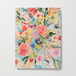 Flower Joy Metal Print