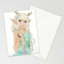 pastel demon fae  Stationery Cards