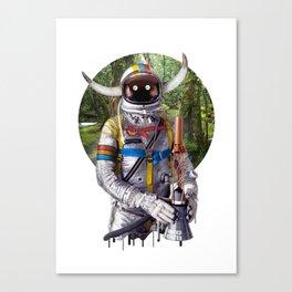 Admiral of the Fleet Canvas Print