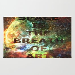 The Breath of Art Rug