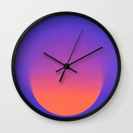 Color Gradient Wall Clock
