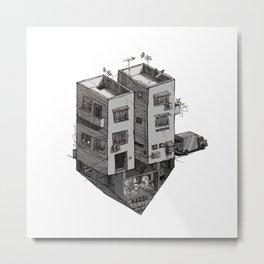 V - Alphabet Town Metal Print