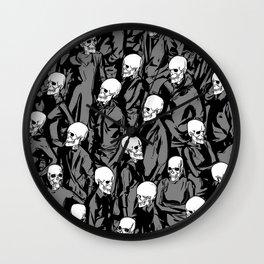 Skull Society Wall Clock