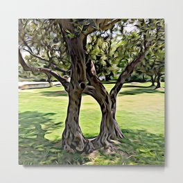 Dance of the Olive Tree Metal Print