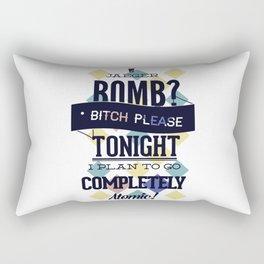 nuclear, chemistry, physics Rectangular Pillow