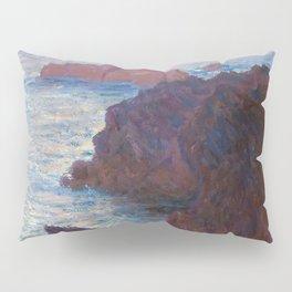 1886-Claude Monet-Rocks at Belle-lle, Port-Domois-65 x 81 Pillow Sham