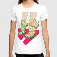 feet T-shirts featuring Feet by Mauro Squiz Daviddi