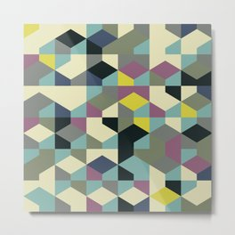Abstract Geometric Artwork 53 Metal Print