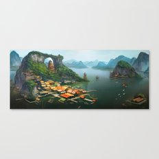 -Hometown- Canvas Print