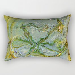 Natures Art Ten Rectangular Pillow
