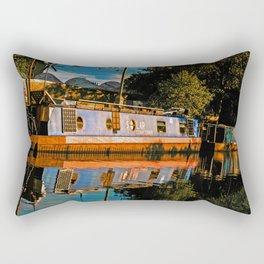 To Drift Away Rectangular Pillow