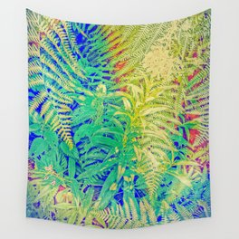 Fern and Fireweed 01 Wall Tapestry