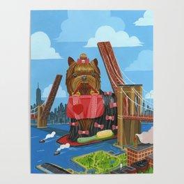 New Yorkie Poster