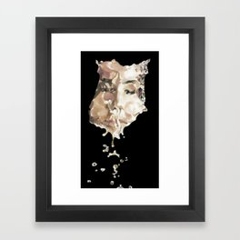 Christened Framed Art Print