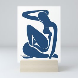Henri Matisse - Blue Nude I 1952 - Original Cut Out Artwork Reproduction Mini Art Print