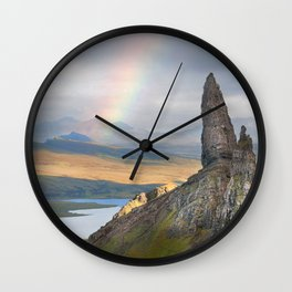 Old Man of Storr Wall Clock