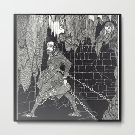 The Cask of Amontillado by Harry Clarke Metal Print