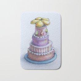 Hummingbird Cake Flower Feeder Bath Mat