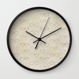 eye glasses Wall Clock