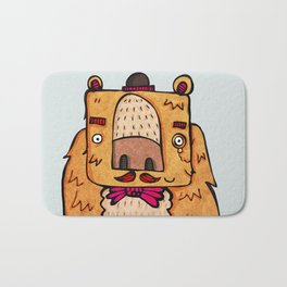 The Grizzly Gentleman Bath Mat