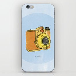 So Analog - Agfa Clack Retro Vintage Camera iPhone Skin