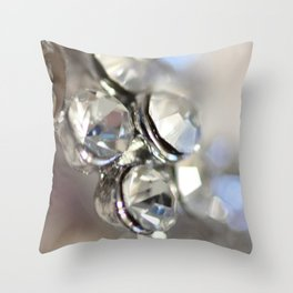Sparkle - JUSTART ©, macro photography. Throw Pillow