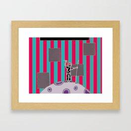 Moon Man 2 Framed Art Print