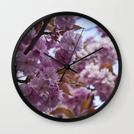 Spring is Near II Wall Clock