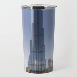Burj Khalifa Dubai Travel Mug