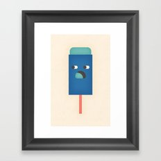 Push Pop Framed Art Print