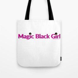 Magic Black Girl Tote Bag