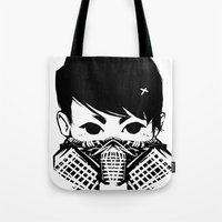exo Tote Bags featuring Exo by TatianaQ
