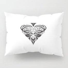 Darling3D Logo Pillow Sham