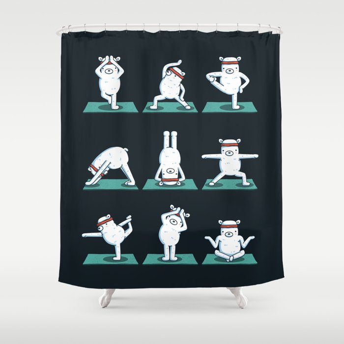 Yogi Bears Shower Curtain By Kellabell9
