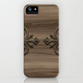 Hardware & Wood iPhone Case