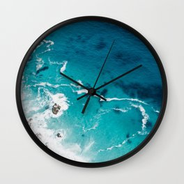 Sea 4 Wall Clock