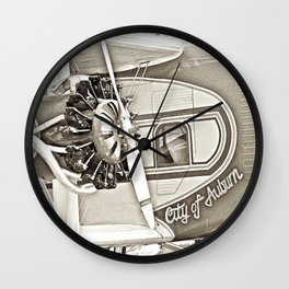 AUBURN SKIES Wall Clock