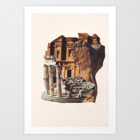 Collage #29 Art Print