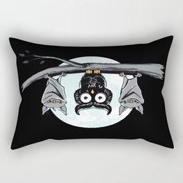 Cute Owl With Friends Rectangular Pillow