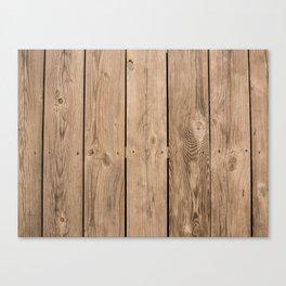 Wood I Canvas Print