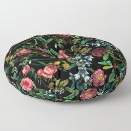 Floral Jungle Floor Pillow