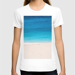 Alone On The Beach T-shirt
