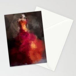 Fire dress Stationery Cards