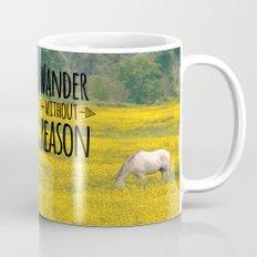 Wander Without Reason Mug