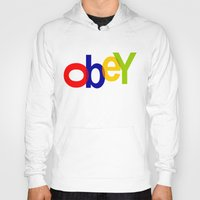 obey Hoodies featuring obey by sasha alexandre keen