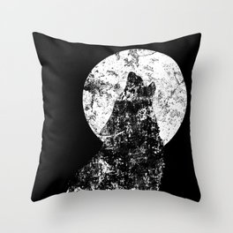 The Howling Throw Pillow