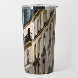 Paris Houses Travel Mug