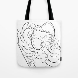 Pirate Parrot - ink Tote Bag